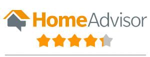 HomeAdvisor star rating with logo